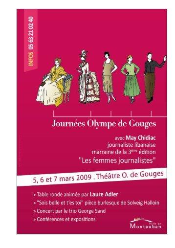 Olympe de Gouges - Montauban.com