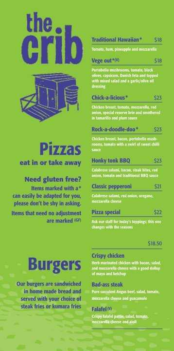 Pizzas Burgers - DineOut