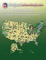 Progress Denied: - US Chamber of Commerce