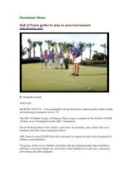 Hall of Fame golfer to play in area tournament - Piper's Landing Golf ...