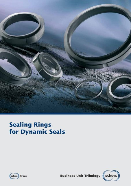 Sealing Rings for Dynamic Seals