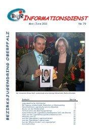 Informationsdienst 79 - Bezirksjugendring Oberpfalz