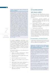 LLASSAINISSEMENT DES EAUX USÉES - Direction de l ...