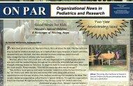 Download issue (PDF) - Department of Pediatrics - University of ...