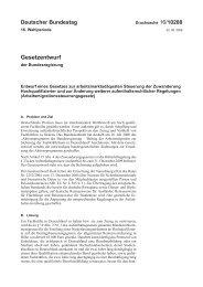 16/10288 - Deutscher Bundestag