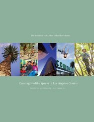 Creating Healthy Spaces in Los Angeles County - Community ...