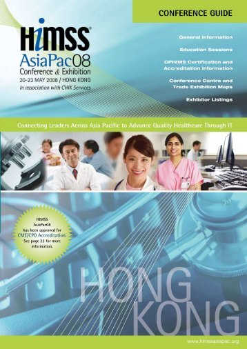 CONFERENCE GUIDE - HIMSS AsiaPac