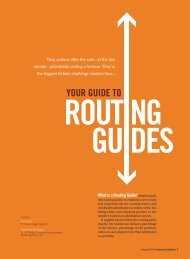 Taking a Page from Routing Guides - Inbound Logistics