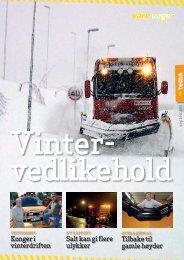 Les kun sidene om VÃ¥re Vegers tema vintervedlikehold ... - Nei til salt
