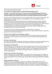 IG Metall - Interview mit Erwin Heinks, Betriebsrat bei SIAG