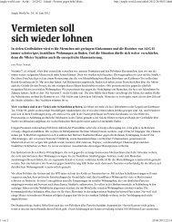 jungle-world - Proteste gegen hohe Mieten in Berlin