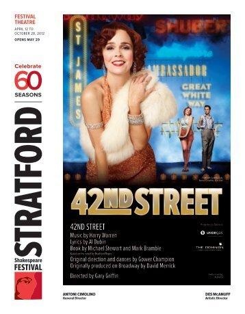 42nd street - Stratford Festival