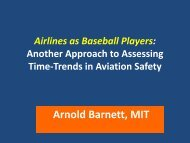 Better Trend Analysis in Aviation Safety