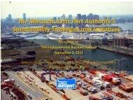 The Massachusetts Port Authority's Sustainability Strategies and ...
