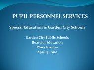 Special Education Update & RTI Presentation - April 2010