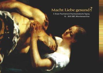 Das Tagungsprogramm im PDF-Format zum Download - LSF Graz