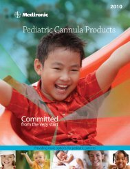 Pediatric Cannula Products - Find your ideal - Medtronic