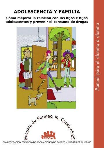 Adolescencia y familia. - Plan Nacional sobre drogas