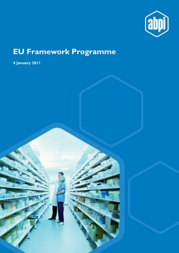 EU Framework Programme - Association of the British ...