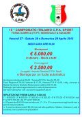 15 campionato italiano fossa olimpica - Caccia Pesca Ambiente - Page 3