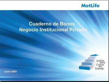 Bonos - MetLife