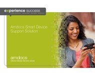 Amdocs Smart Device Support Solution