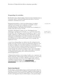 Metodenotat- Boligmarkedsstatistikkens opbygning og ... - Finansrådet