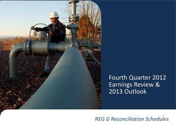 Q4 2012 Regulation G PDF