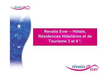 Revalis Ever – Hôtels, Résidences Hôtelières et de Tourisme ... - CN2i