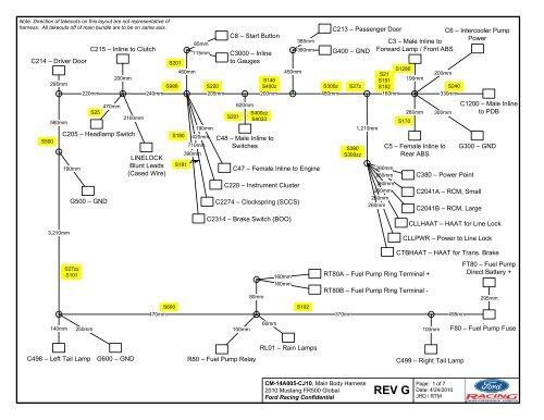 ford racing wiring harness diagram  wiring diagram series
