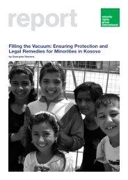 Filling the Vacuum - Minority Rights Group International