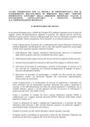 N. 1 Avviso Informativo - Regione Lazio