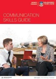 communication skills guide - Ngee Ann-Adelaide Education Centre ...