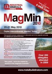 MagMin 2010 - Metal Bulletin Store