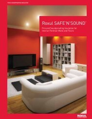 Roxul SAFE'N'SOUND™ - Pharos Project