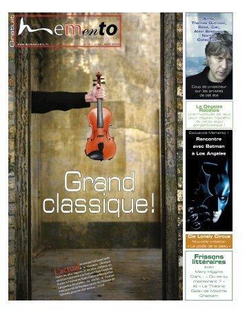 L'actual - Memento, le culturel gratuit en Languedoc-Roussillon