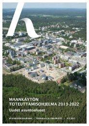 maankäytön toteuttamisohjelma 2013-2022 - Hyvinkaan kaupunki