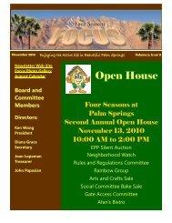 November 2010 - Newsletter Website