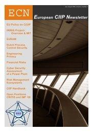 European CIIP Newsletter, Volume 4, Number 2 - irriis