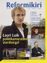 Reformikiri sügis 2007 - Reformierakond