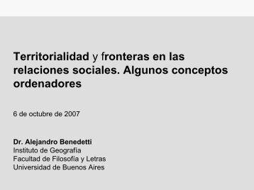 Dr. Alejandro Benedetti - Buenos Aires Ciudad