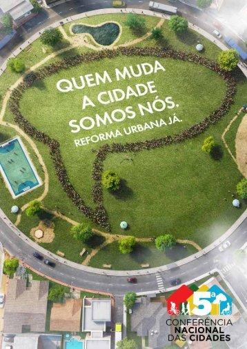 Cartilha Ministério das Cidades: Quem muda a cidade ... - Início