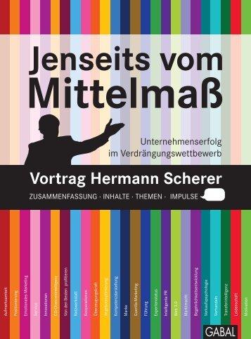 Leseprobe - Hermann Scherer