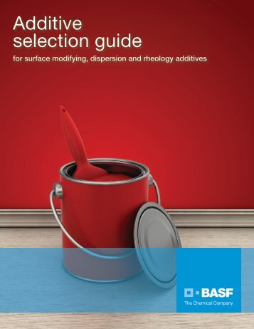 Additive selection guide - Pharos Project