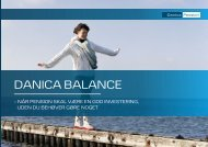 Læs mere om Danica Balance - Danica Pension