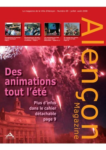 ALENCON_MAG_69.indd - Alençon