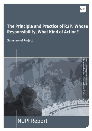 The Principle and Practice of R2P.pdf - Nupi