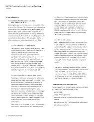 Tektronix: Primer > UMTS Protocols and Protocol Testing : Introduction