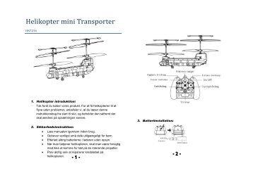 7234 - Helikopter Transporter mini -  Harald Nyborg