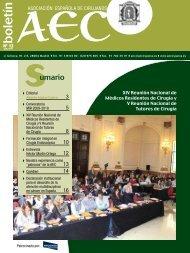 Boletín de la AEC: Nº 12 - AEC_____Asociación Española de ...